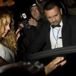 Beyonce Knowles - At the new Kanaloa Club in London 13.11.2009