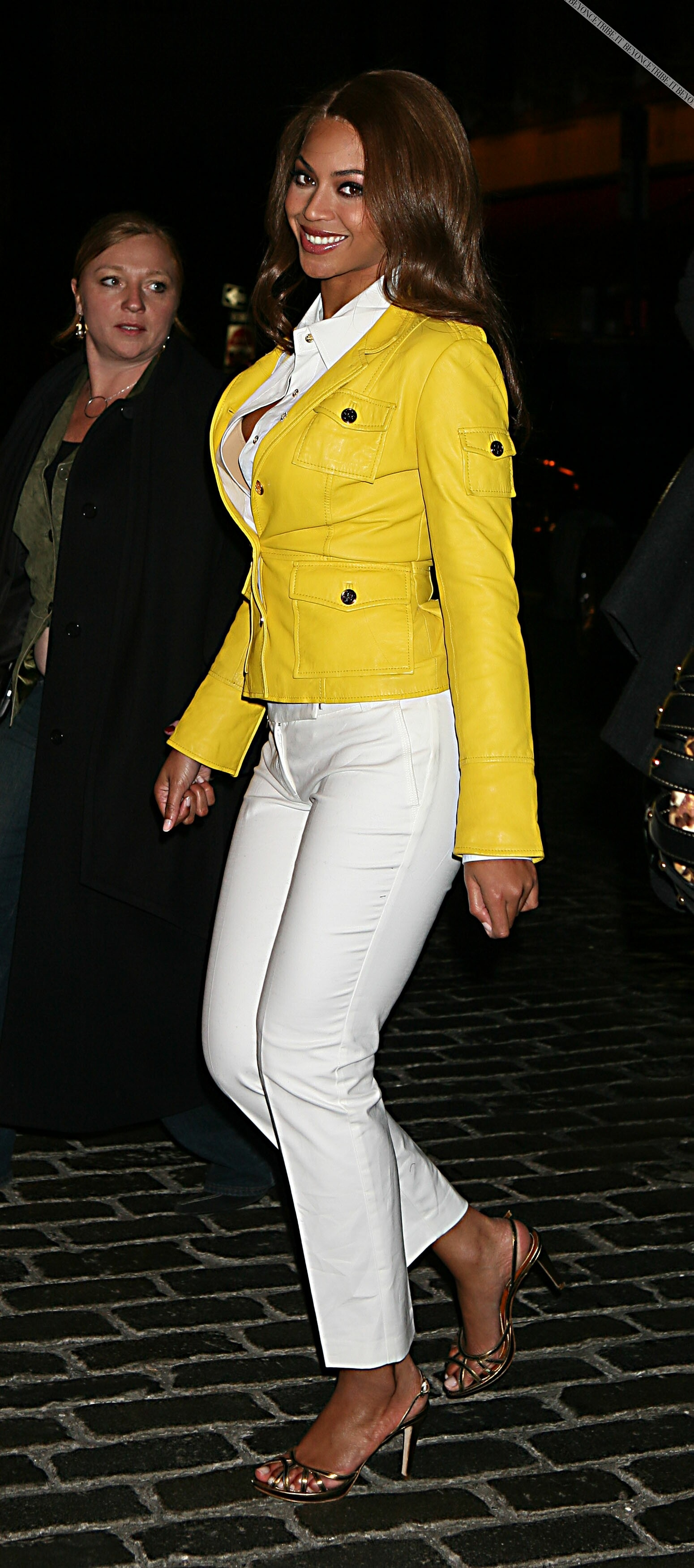 Beyonce Out & About In NYC (March 9, 2007)
