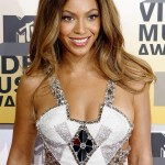 Beyonce Knowles poses at the 2006 MTV Video Music Awards in New York