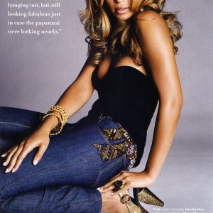 Beyonc cover &amp; article scans of Essence Magazine Sept 2006 issue 10