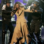 Singer Beyonce performs during the 2006 MTV Video Music Awards in New York