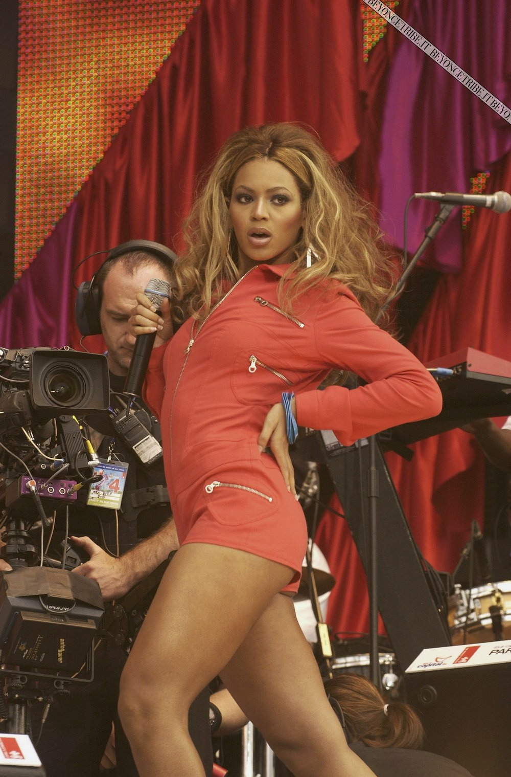 Beyonc on Party in the Park in Hyde Park - London 2003 HQ