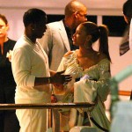 Beyoncé on P Diddy yacht in Cannes, 23 May 2008