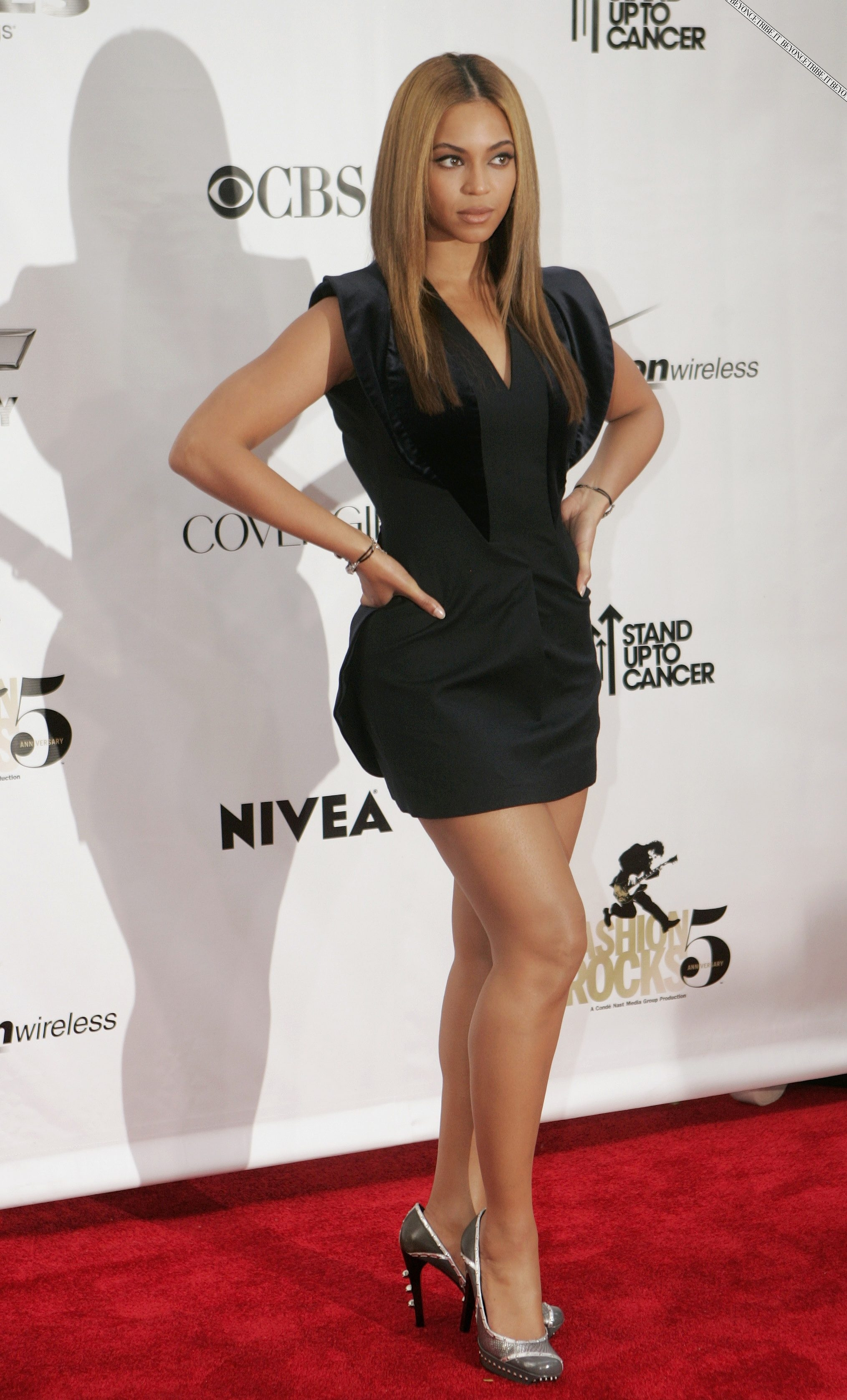 Beyonc red carpet &amp; performance pics on Fashion Rocks in New York  05 sept 2008