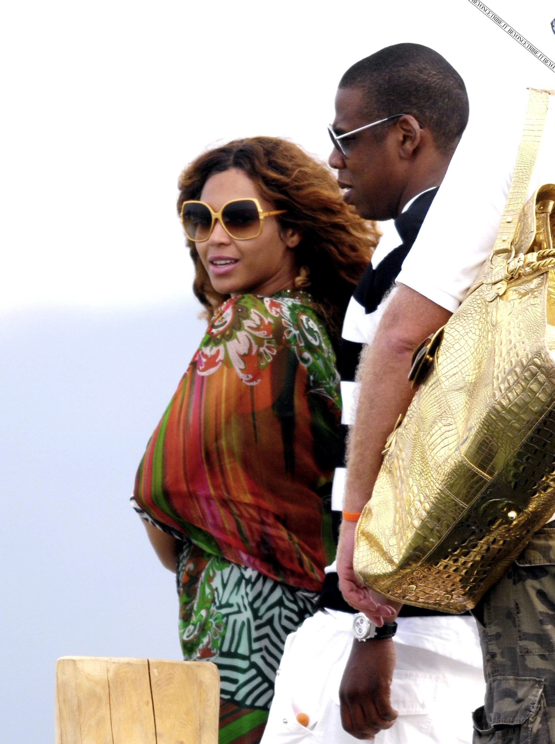 Beyonc Saint Tropez 18/06/2007
