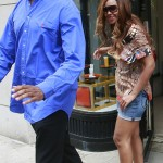 Beyoncé shopping in New York 1 July 2007