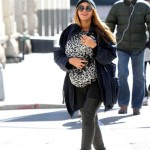 Beyonc &amp; Blue Out in NY 26 Feb 2012
