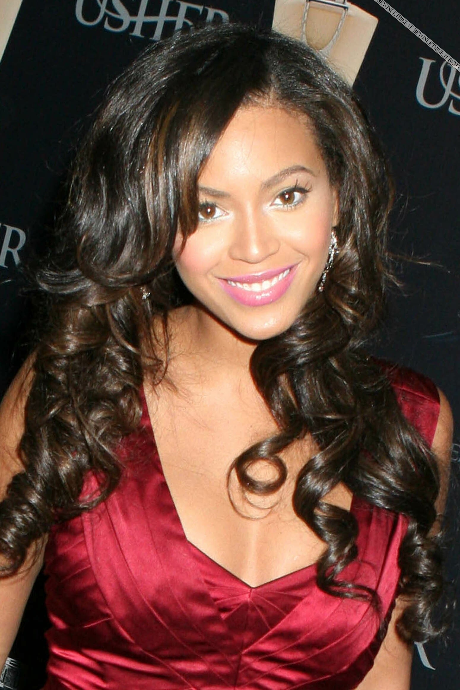 Beyoncé on Usher Launch Party for his Fragrances in NY 25 sept 2007