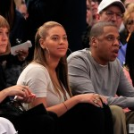 Beyoncé & Jay-Z at the New York Knicks basketball game - 20 Feb 2012