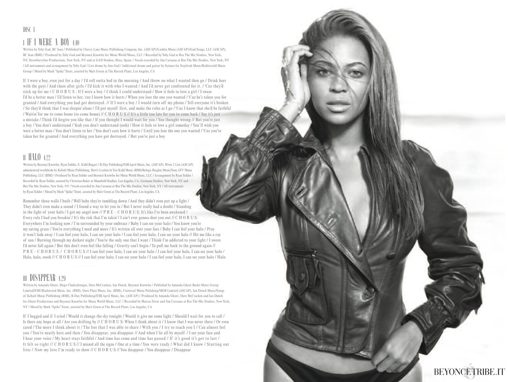 3Digital Booklet – I Am… Sasha Fierce | Beyoncé Tribe ...