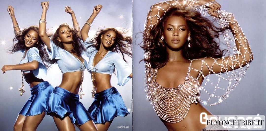 Dangerously in Love cd Artwork & booklet