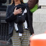 Beyoncé & Blue Ivy in Tribeca  NY 12 march 2012