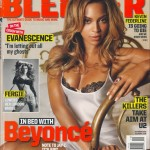 Beyonc scans Blender magazine USA - Oct 2006