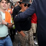 Beyoncé and Jay-Z attend the Knicks game + Bar Pitti in NY 15 APR 2012