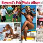 Scans Beyoncé article on Us Weekly magazine 25 Apr 2012