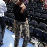 Beyoncé and Jay-Z attend the Knicks game in NY 15 APR 2012