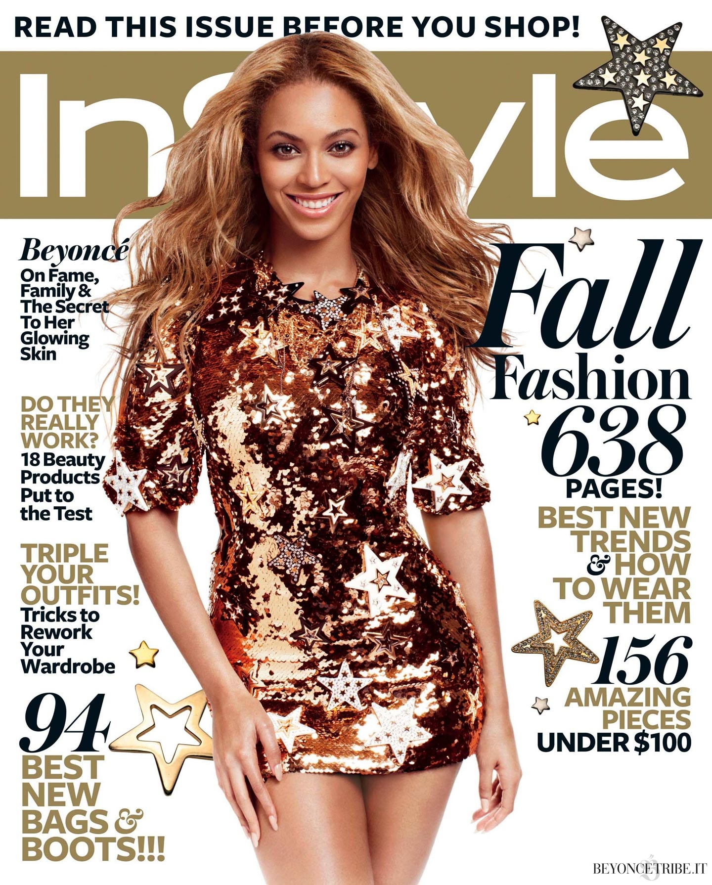 Beyoncé photoshoots Michelangelo Di Battista for InStyle Mag sep 2011 HQ