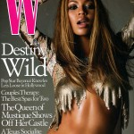 Scans Beyonc cover &amp; article W magazine Usa 2002