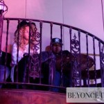 Beyoncé & Jay-Z support Santigold on concert celebrates album re-release at NY Bowery Ballroom 30 apr 2012