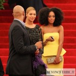 Beyonce & Solange at  The Met Ball NY 7 may 2012