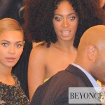 Beyoncé & Solange at The Met Ball NY 7 may 2012