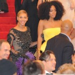 Beyoncé & Solange arriving at The Met Ball NY 7 may 2012