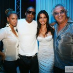 Beyonc , Jay-Z ,Elisabetta Gregoraci &amp; Flavio Briatore at Billionaire - June 2008