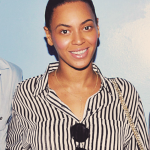 "Beyoncé at backstage musical ""Ghost"" on Broadway at The Lunt Fontanne Theater on 12 May  2012 in New York"