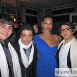 Beyoncé & IL VOLO trio italians tenors on We Are The World For Haiti - NY Feb 2010