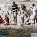 2Beyonc &amp; Jay-Z arrived to Hvar island - Croatia 6 sept 2011