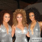 Beyonc on the set of Ego music video 2009