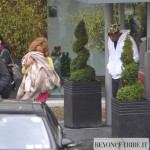 Beyoncé ,Blue & Jay-Z arrive at airport the Dublin - Ireland 8 june 2012