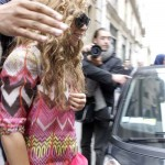 Beyoncé,Blue & Jay-Z  arrives to Le Meurice Hotel in Paris-France 4 jun 2012