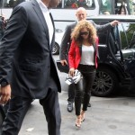 Beyoncé & Jay-Z arrive on Caviar Kaspia's restaurant Paris - France 6 jun 2012