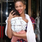 Beyoncé & Blue Ivy NEW YORK 18/07/2012