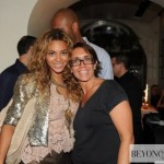 Beyoncé in Capri-Italy at Aurora Ristorant - summer 2010