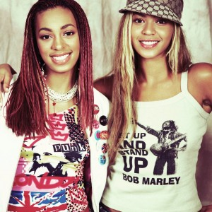 Beyonc &amp; Solange photoshoots by Myrna Suarez - 2001