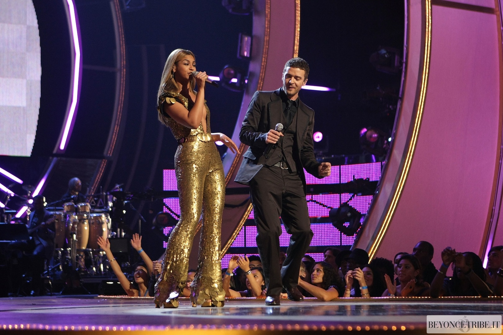 Beyonc &amp; Justin Timberlake Live at Fashion Rocks - NY 5 Sept 2008 HQ