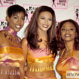 Destiny's child on MTV European Music Awards in Milan - Italy 11 dic 1998