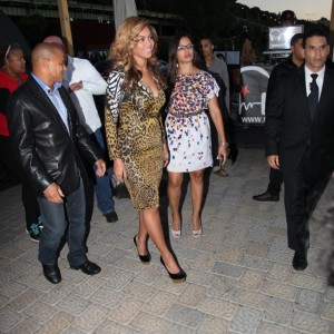 Beyonc &amp; Jay-Z arriving at Restaurant La Marina NY - 23 sept 2012