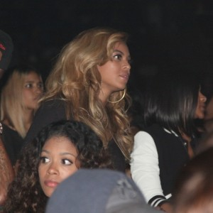 Beyonc at Jay-Z Concert - Barclays Center - NY 28 sep 2012