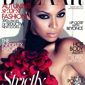 Beyonc on the Covers Harper&#039;s Bazaar UK photoshoot by Alexi-Lubomriski September 2011