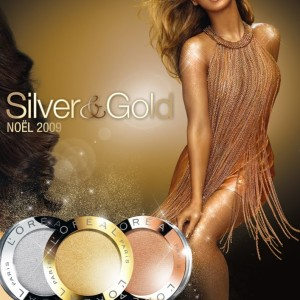 Beyoncé advertising L'Oreal Silver & Gold 2009