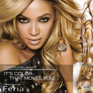 Beyonc Advertisement Fria L&#039;Oreal-6