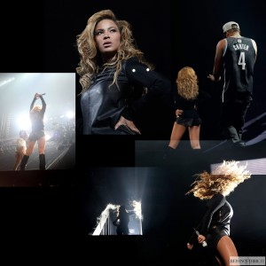 Beyonc surprise appearance at Jay-Z&#039;s Final Barclays Concert 6 oct 2012