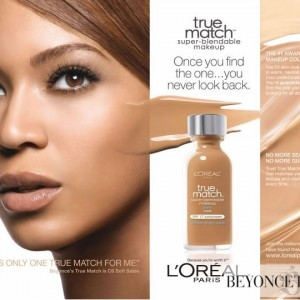 Beyoncé AD L'Oreal True Match - 2011-2