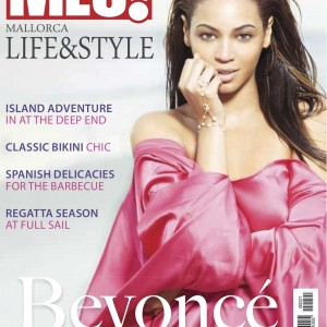 Beyoncé MLS magazine cover Aug 2011