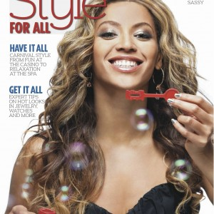 Beyoncé Style For All magazine cover