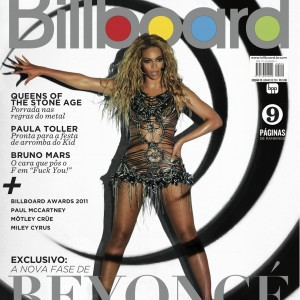 Beyoncé cover Billboard Brasil june 2011