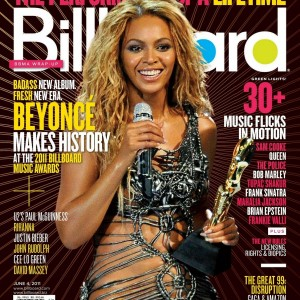 Beyoncé cover & article scans of Billboard Magazine - 4 jun 2011-COVER